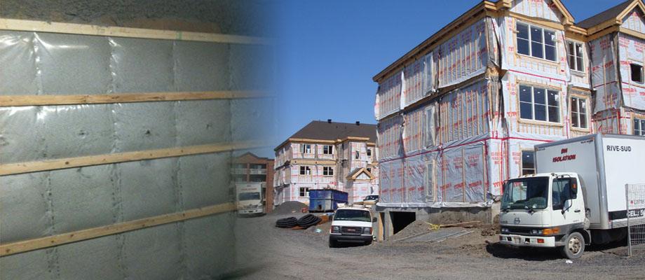isolation résidentiel commercial et industriel